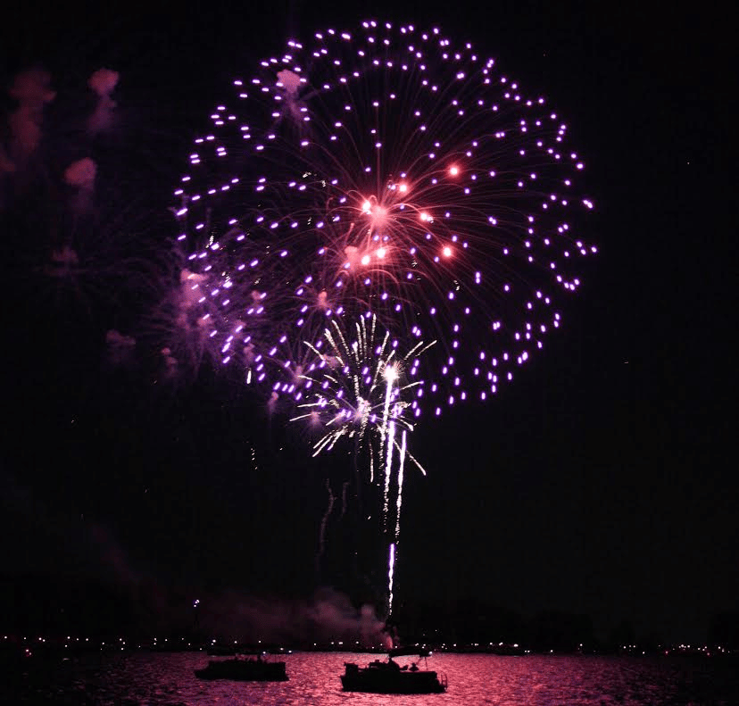 Lake Murray Fireworks